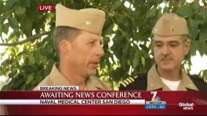 Military and local police investigating reports of gunshots on San Diego naval base