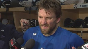 RAW: Winnipeg Jets Blake Wheeler Post Game Reaction – April 18