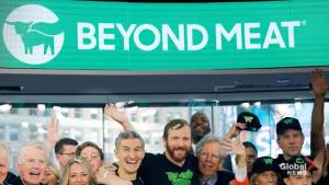 Beyond Meat shares surge with grocery store announcement