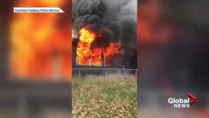 Calgary police release video from 2015 house fire