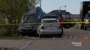 Calgary police investigate crash and fatal shooting in Taradale