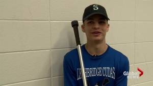 Athlete of the Month: Cudas goalie leading squad to lacrosse provincials