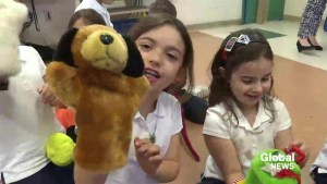 Puppet show for kids highlights important lesson