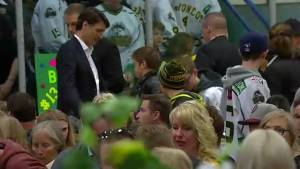 Canada grieves as tearful memorial held for Humboldt Broncos