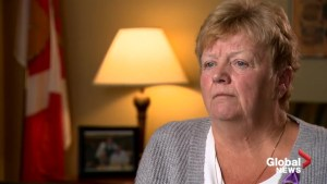 'We're Catherine's voice:' Mother of murdered cop calls on Liberals to revoke benefits to killer