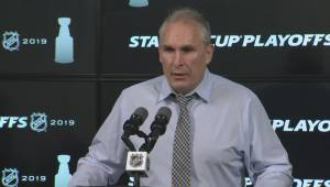 RAW: St. Louis Blues Craig Berube Post Game Reaction – April 18 (05:43)
