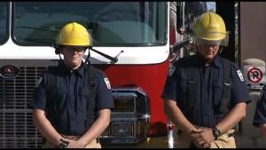 Peterborough firefighters  mark 9/11 anniversary