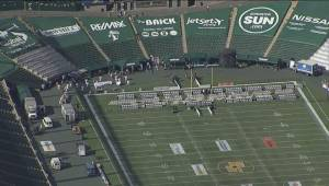 Aerial view of the Feast on the Field fundraiser