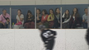 Chinese families in Kelowna for hockey camp