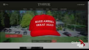 Trump slogan hat leads to firing of Vancouver restaurant manager