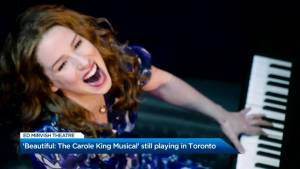 Toronto lead of 'Beautiful: The Carole King Musical' on playing an icon