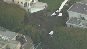 Landslides threaten White Rock homes
