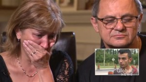 Family of woman killed in alleged impaired driving collision reacts to suspect interview