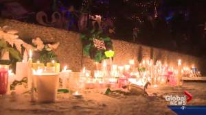 Candlelight vigil held in Spruce Grove for Ryder and Radek MacDougall