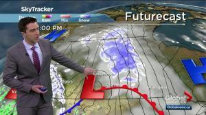 Saskatoon weather outlook: more snow, -30 wind chills ahead