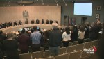 Edmonton bus driver receives standing ovation at city hall
