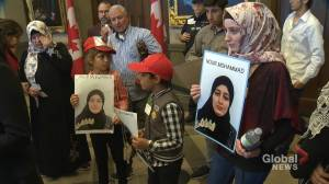 Syrian family pleading to be reunited with daughter