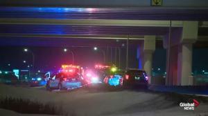 Edmonton police investigate collision