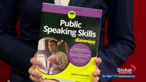 Public Speaking Skills for Dummies written by Edmonton coach