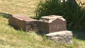 Charges laid in cemetery vandalism in Picton