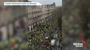 Demonstrations in Bordeaux, Toulouse as 'yellow vest' protests continue into 7th weekend