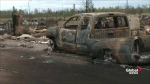 'We're still alive': Fort McMurray fire chief delivers touching message to residents during tour of devastated city