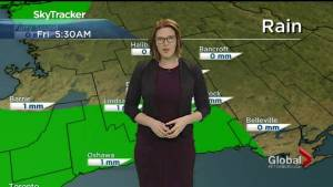 Rainfall warning in effect amid ongoing flooding situation