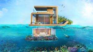 Dubai resort to feature 'floating seahorse' villas with underwater bedrooms