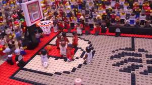 Raptors fan creates Lego version of Kawhi Leonard's historic 'buzzer-beater'