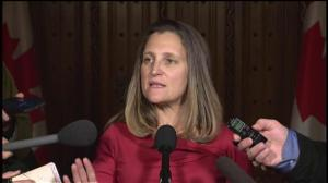Canada takes Saudi journalist's death 'very seriously': Freeland