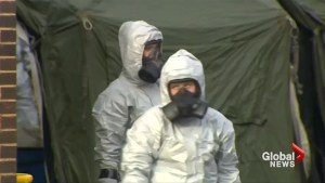 Hundreds urged to wash clothes after UK nerve agent attack