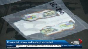 Fentanyl and counterfeit currency lab busted: Calgary police