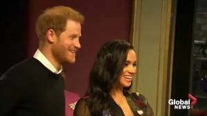 Meghan Markle and Prince Harry unveil plaque at local theatre, visit charity in Bristol