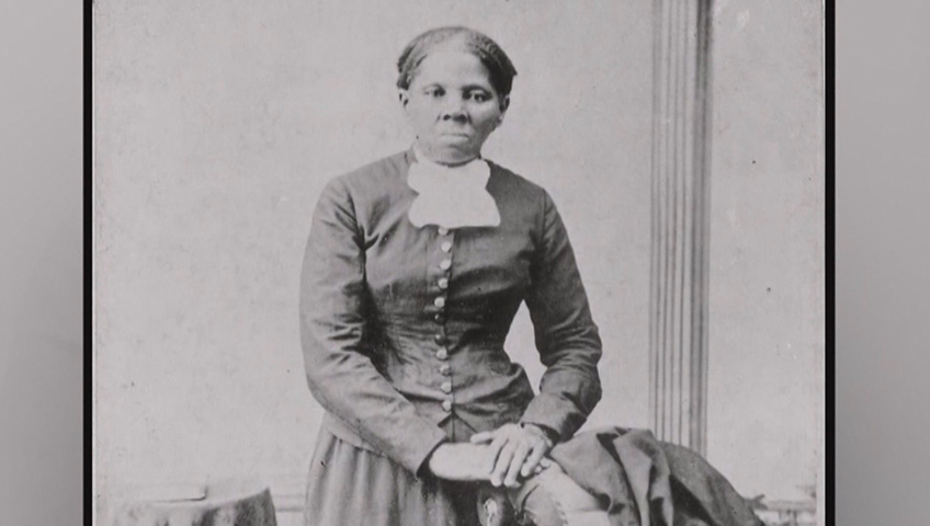 Artist places Harriet Tubman on $20 bills, despite Trump's ambivalence