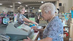 90-year-old continues volunteering at Lethbridge Thrift store after nearly 50 years