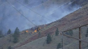 Trans Canada partially reopens following wildfire north of Spences Bridge