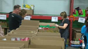 Edmonton Food Bank not on track to meet Christmas campaign goal