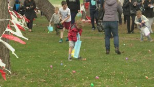 Easter egg hunt in Penticton supports children with developmental challenges