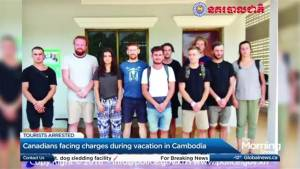 Canadians facing charges in Cambodia
