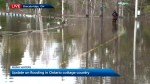 Four communities under a state of emergency due to flooding
