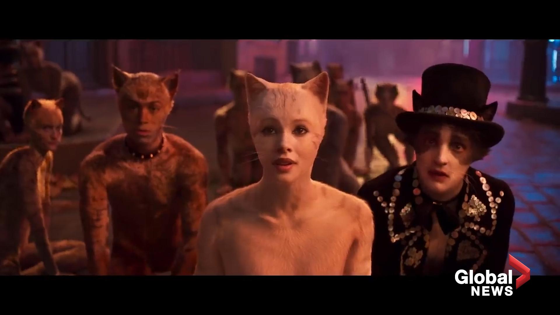 Cats\u0027 movie trailer Internet recoils at teaser for live