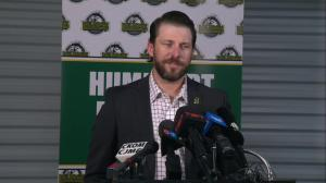 Humboldt Broncos' head coach preps for first regular season game since bus tragedy