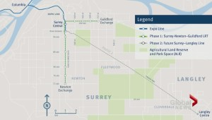 Surrey mayor urges quick action on LRT