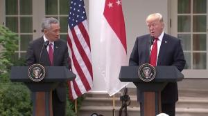 President Trump lauds $13.8 B deal between Singapore and Boeing