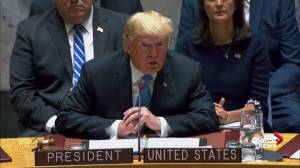 Trump tells UN: Iran must 'never be allowed' to have nuclear weapons