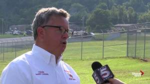 'Remarkable' no one was seriously injured: Fire Chief on Dale Earnhardt Jr. plane crash