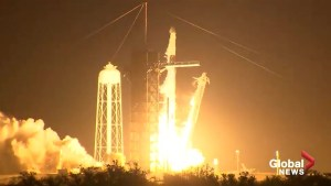 SpaceX launches test flight of capsule built to carry humans
