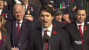 PM Trudeau describes his conversation with President-elect Trump