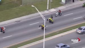 Stunt riders fill up Florida roads, highways for MLK day