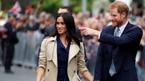 Prince Harry and Meghan Markle greeted by thousands in Melbourne